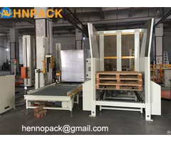 Manual Pallet Dispenser And Collector