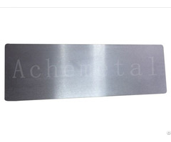 Hard High Ductility Small Expansion Coefficient Good Tenacity Tantalum