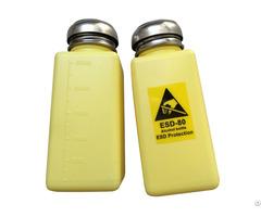 Anti Static Alcohol Plastic Esd Safe Solvent Dispenser Bottle