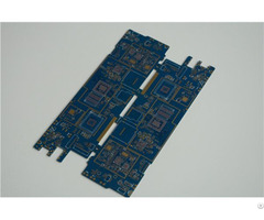 Controlled Impedance 6l 1 6mm Hdi Pcb In Mobile With Blind And Buried Holes