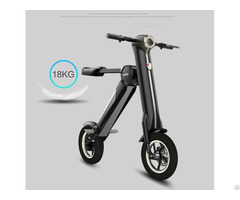 Electric Scooter Foldable Bike 12 Inch City Smart