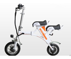 Electric Bike Smart Two Seat 12 Inch Foldable