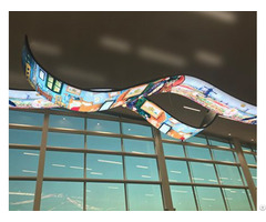 Roll Up Rollable Led Curtain Display