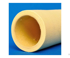 Yellow Color High Temperature Kevlar Felt Roller Tube