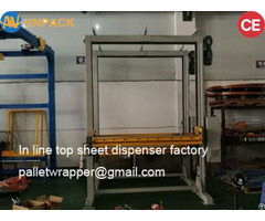 Dust Proof Type Strerch Film Pallet Top Cover Machine