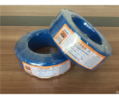 European Standard Pvc Insulation Wire Resistance To Fire Electrical Cable Cloth Wires