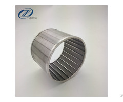 Stainless Steel Cylinder Wire Mesh Filter Johnson Wedge With High Flow Capacity