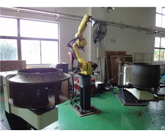 China Low Cost Industrial High Precision 6 Axis Articulated Automatic Welding Robot Workstation