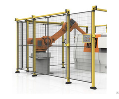 China High Strength Hot Selling Industrial Machine Robot Safety Protection Fence