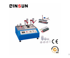 Alcohol Abrasion Resistance Tester Complies With Ul817