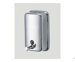 1200ml Stainless Steel Manual Hand Soap Dispenser Kitchen Mounted
