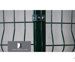 Airport Fence Welded 50x100 Razor Wire Chain Link