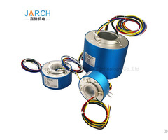 Hollow Shaft Slip Rings Rotary Joint Series