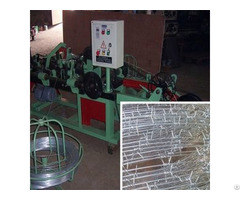 Cs B Single Twisted Barbed Wire Making Machine