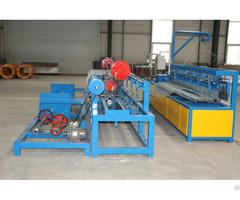 Automatic Single Wire Chain Link Fence Diamond Mesh Opening 30x30 100x100 Machine