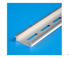 Hot Sale High Quality Electrical Sliver Aluminum Din Rail Manufacture