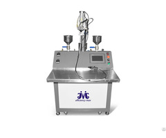 Semi Automatic Easy Handle High Accurate Glue Mixing Machine System