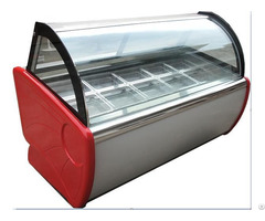 Luxuriousiced Ice Cream Display Cabinet Cryogenic Popsicle Reveal Ark
