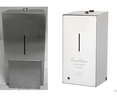 Washroom Hygiene Stainless Steel Liquid Soap Dispenser