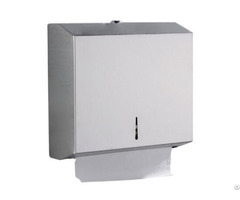 Stainless Steel Wall Mounted Towel Dispenser Lockable
