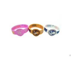Irregular Shape Custom Silicone Wristband