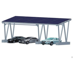 Solar Aluminum Carport System For Residential Home Or Commercial Use