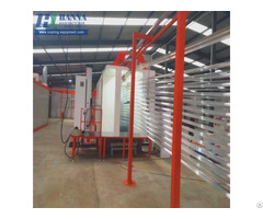 Compact Powder Coating Line Booth Spray Paint Manufacturers