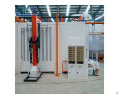High Quatity Spray Painting Booth Machine For Farm Machinery Parts Powder Coating Line