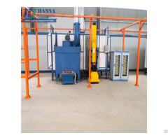 High Quality Plastic Powder Coating Machine Mono Cyclone Spray Booth Manufacturers