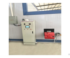 Electrostatic Powder Coating Equipment Line With Gas Burner