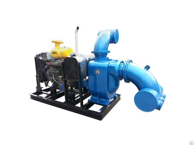 Deep Well Sewage Flow Centrifugal Trash Pump