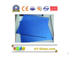 4mm 5mm Dark Blue Reflective Float Coated Building Glass