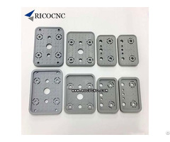 125x75x17mm Cnc Vacuum Pad Cover Cups And Pods Rubber Replacement Plates