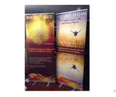 China Customized Size High Resolution Good Quality Pull Up Retractable Banners