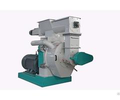 Ring Die Wood Pellet Mill 8000 Kg H White Color