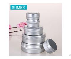 Aluminum Screw Lids Container Jars