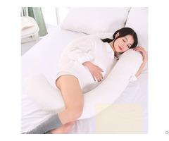 Hot Sale Factory Direct Comfortable Soft Pregnancy Maternity U Shaped Pillow
