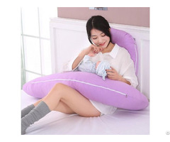 Hot Sale Factory Direct Cheap Multi Functional Full Body Washable Maternity U Shaped Pillow
