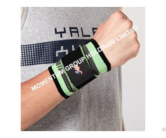 Green Wrist Support With Bandage