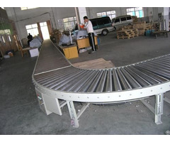 China High Quality Stainless Steel Turning Drum Conveyor Manufacture