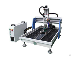 Best Selling Tabletop Cnc Router Machine For Aluminum Metal With 4th Rotary Axis