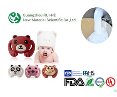 High Transparent Food Grade Liquid Silicone Rubber For Baby Nipple Bottle