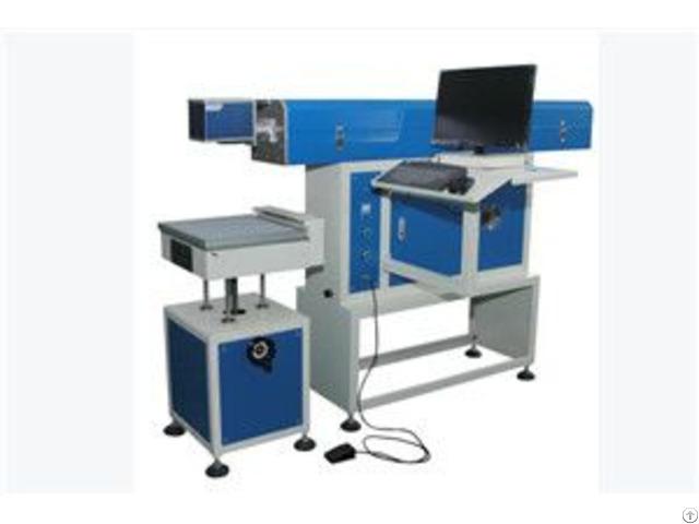 Cx 80f High Speed Co2 Glass Tube Laser Marking Machine