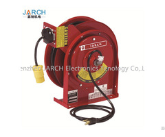 Exetension Electric Cable Reel With Led Light