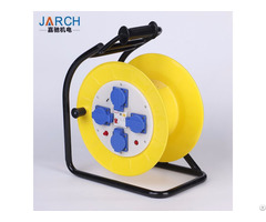 Cord Reel With 4 Outlets