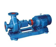 Pw Pwf Horizontal Sewage Corrosive Resistant Pump