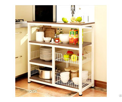 Cheap 3 Tier Kitchen Baker S Rack Utility Microwave Oven Stand Storage Cart Workstation Shelf