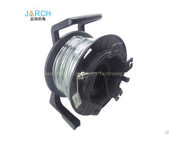 Heavy Duty Single Mode Fiber Optic Cable Reel With Odc Connector On Winding Drum