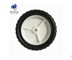 Hot Sale Rubber Tires 7 Inch Solid Wheel For Lawn Mowe Dolly Folding Wagon Trolley