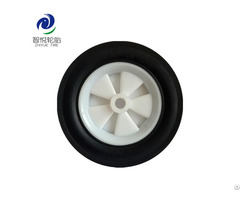 Hot Selling 6 Inch Solid Rubber Wheel For Air Compressor Hand Truck Bbq Grill